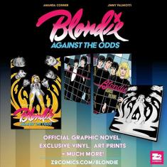 Выходит комикс про группу Blondie