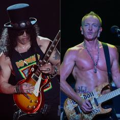 Слэш, Фил Коллен из Def Leppard и Роберт Делео из Stone Temple Pilots сыграли вместе «Fire» Джими Хендрикса